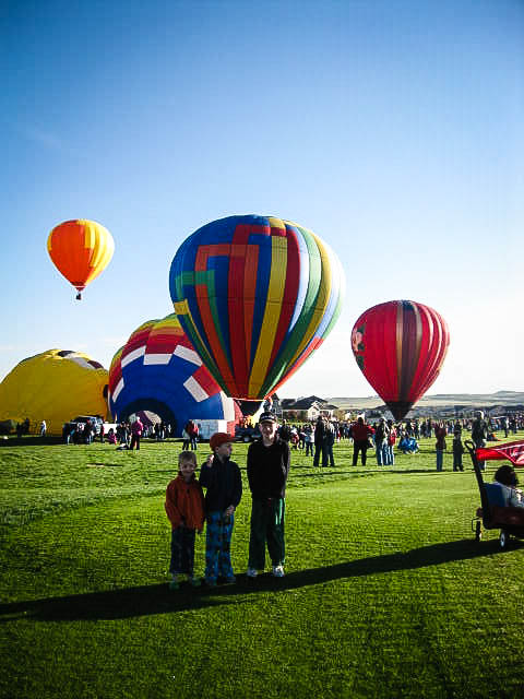 hot air balloon, image,  Erie, CO, Colorado, fun for kids, Rocky Mountains