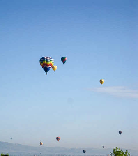 Hot air balloons, image, Erie, CO, Colorado, Events, Festival, Rocky mountains